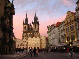 870730-Tyn-Church-looking-out-over-Staromestske-nam--Prague-4